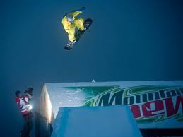 Mountain Dew snowboard