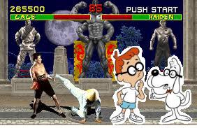 Mr Peabody in Mortal Kombat