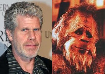 Ron Perlman and Harry and the Hendersons comparison